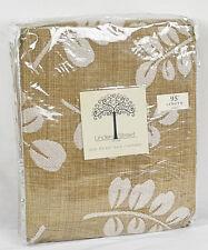 """JCP Home Linden Street Arbor Leaf Rod-Pocket Back-tab Panel 50"""" x 95"""" Soft Cream"""