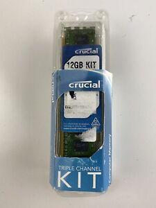 Crucial 12GB Kit Triple Channel Kit