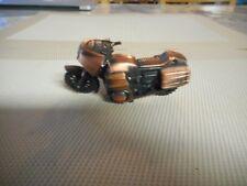 Vintage Diecast Metal Miniature Motorcycle Pencil Sharpener