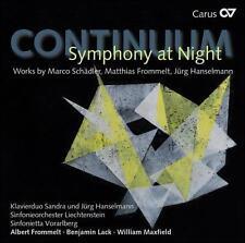CONTINUUM: SYMPHONY AT NIGHT (NEW CD)