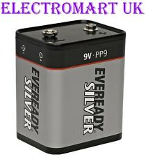 Eveready silver PP9 9 volts 9V batterie roberts radio
