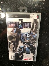 Armored Core Formula Front Sony Playstation PSP New Sealed Extreme Battle