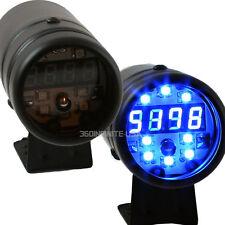 Adjustable Shift Light  DIGITAL RPM TACH LED black Body Blue LED  #098