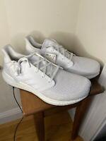 Adidas Running Ultra Boost 20 Triple White Ultraboost EG0713 Size 11.5 Women NEW