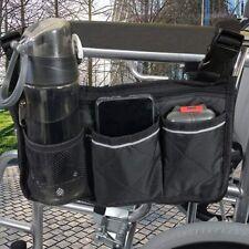 Wheelchair Accessories, Waterproof Wheelchair Bags to Hang on Side, Storage bag