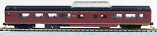 N Smooth Side Passenger Mid-Train Dome Norfolk & Western (Tuscan Red) (1-40222)