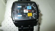 DIESEL DZ7325 mit 3 Uhrzeiten XL Herrenuhr Chrono