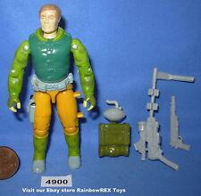 1990 CAPTAIN GRID IRON Hand To Hand Combat GI Joe 3 3/4 inch Figure #3