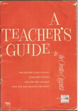 "A Teachers Guide to ""The Creative Organist"", Music Teaching Book."