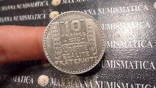 FRANCIA FRANCE 10 FRANCS FRANCHI 1938 ARGENTO  SILVER COD. FRANCIA-60
