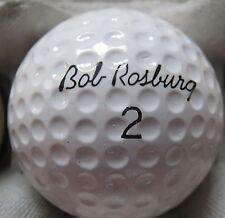 (1) BOB ROSBURG SIGNATURE LOGO GOLF BALL ( RAM MADE IN USA CIR 1967) #2