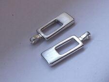 2 Stück Anhänger Reißverschlusszipper Zipper  3 cm gold NEUWARE rostfrei #388.2#
