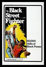 BLACK STREET FIGHTER * CineMasterpieces BLAXPLOITATION ORIG MOVIE POSTER 1976