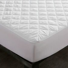 Microfiber 100% Waterproof Quilted Mattress Cover Pad Protector Absorbent Topper