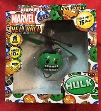 Marvel Hulk Heli Ball Sphere Control Hand Fly Up 15' USB Charge Helicopter