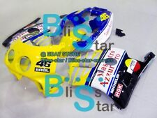 Yellow Gloss Injection Plastic Fairing Fit Honda CBR250RR MC22 1991-1998 30 A6