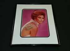 """"""" Raquel Welch"""" /Custom Framed Autographed Photo, MINT CONDITION."""