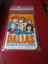 1981 Dallas Card Pack