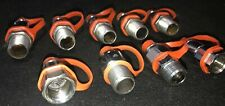 Ansul Fire Suppression Nozzles w/ Caps 9 Piece Lot Item Numbers In Description