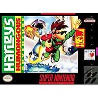 Harley's Humongous Adventure Super Nintendo Game SNES Used