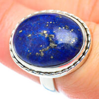 Lapis Lazuli 925 Sterling Silver Ring Size 7 Ana Co Jewelry R52721F