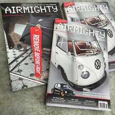 AIRMIGHTY MEGASCENE AIR COOLED VW LIFESTYLE MAGAZINE ISSUE # 19