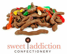 5kg Premium Milk Chocolate Covered Snakes - Bulk Party Lollies AUSTRALIAN MADE