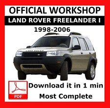 Freelander Land Rover Car Manuals & Literature for sale | eBay
