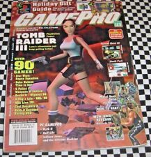 GamePro Magazine Issue 123 December 1998 Holiday Gift Guide Tomb Raider III