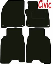 Honda Civic Tailored car mats ** Deluxe Quality ** 2012 2011 2010 2009 2008