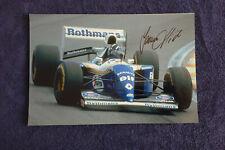 DAMON HILL SIGNED 1994 WILLIAMS F1 PHOTO 20X30 PIC VERY RARE UNIQUE