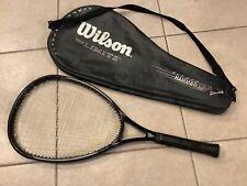 "Near Mint Wilson Sledge Hammer 3.4 Stretch ""The Limits"" tennis racket 4 3/8"