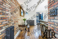 brick slips cladding wall tiles old featured wall rustic tiles BURNED YELLOW