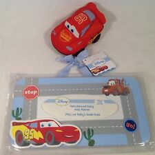 DISNEY PIXAR CARS Room Name Plate PERSONALIZED NewLIGHTNING MCQUEEN PLUSH CAR
