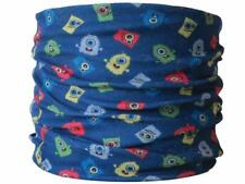 Child Size Neck Tube Fuzzy Monsters Ski Skiing Snood Mask Hat Base Layer Scarf