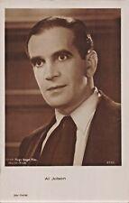 AL JOLSON-AMERICAN SINGER-COMEDIAN-STAGE-FILM-HUGO ENGEL WARNER PHOTO POSTCARD