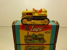 IMPY LONE STAR 34 EUCLID TRACTOR TWIN POWER CRAWLER - YELLOW - VERY GOOD IN BOX