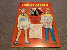 VTG 1969  Whitman TRACE AND COLOR Family Affair Coloring Book Unused Nice
