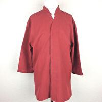 Doc & Amelia by Cintas Men's Cinnamon 3/4 Sleeve Shirt Sz 2XS