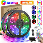 16.4Ft RGB Waterproof SMD 300 LED Light Strip Flexible Tape lamp Color Changing