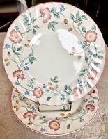 "Churchill Fine English China Briar Rose 9 3/4"" Dinner Plate - SET OF 2"