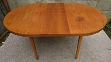 Extending Beech Wood Oval Kitchen Dining Table with Removable Legs