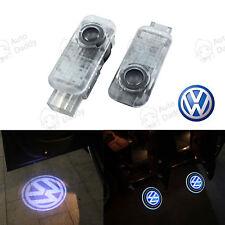 4X LED Door VW Volkswagen Projector Shadow Laser Light Lamp Logo Courtesy Puddle