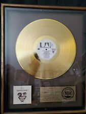 WAR Why Cant We Be Friends RIAA GOLD RECORD AWARD RARE FLOATER BEAUTY!