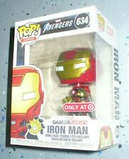 Marvel Gamerverse Funko Pop Vinyl Figure - Target Exclusive - Iron Man # 634
