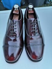 Mens FLORSHEIM 100% Leather, Oxblood Lace-up Oxford Brogues UK 9 (43) US 10.