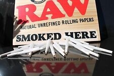 RAW Organic 1 1/4 Size Pre-Rolled Cones with Filter~81 Pack~Fast Free Shipping