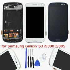 Vitre Tactile Bleu Blanc Écran LCD Assemblés pour Samsung Galaxy S3 i9300 i9305