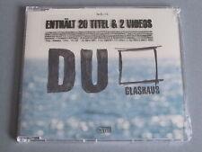 Glashaus - Du   ( Maxi - CD )   ( Neu & OVP )
