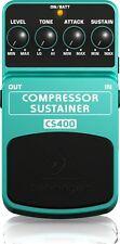 Behringer cs400 COMPRESSOR/SUSTAINER Effetto Pedale